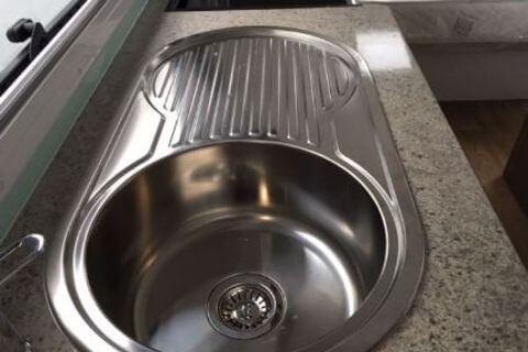 Kitchen Oval Sink Round Bowel