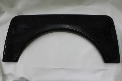 Spat Wheel Spat Black Plastic