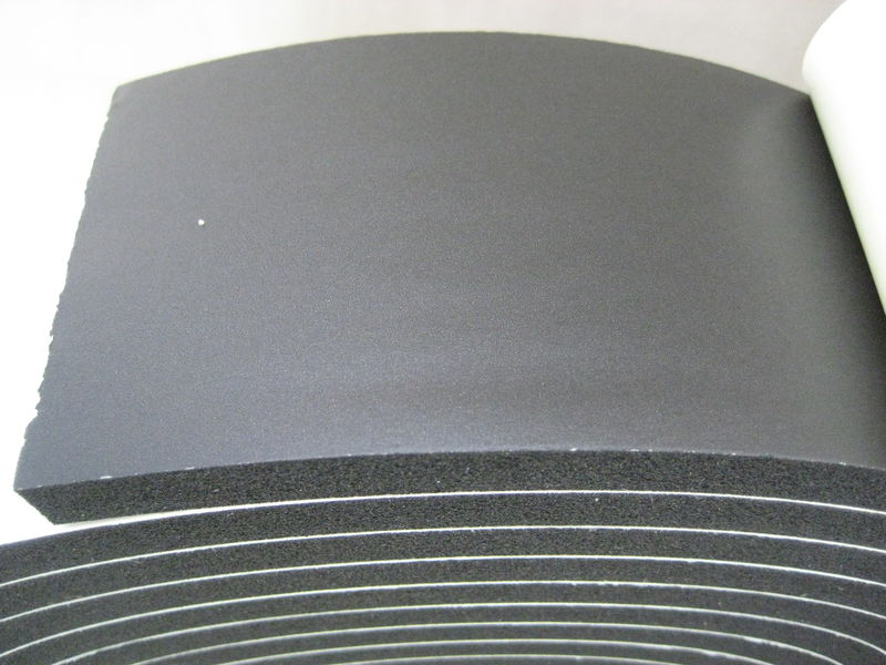 Black Roof Rubber 75mm pm