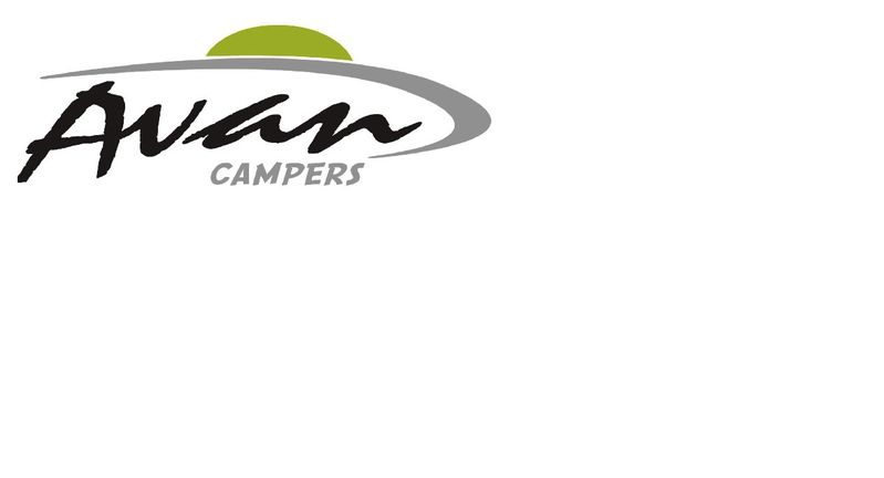 Camper Decals Rear Flash LIME 2015
