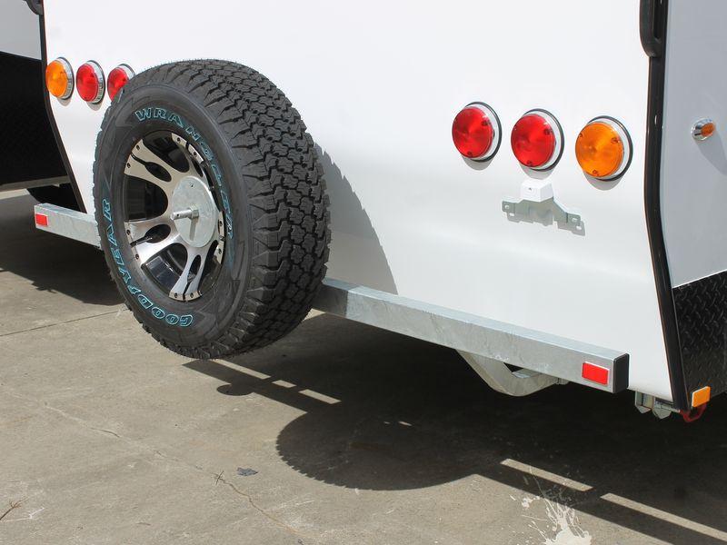 Caravan Rear Bumper Bar Adv Avan Spare Parts