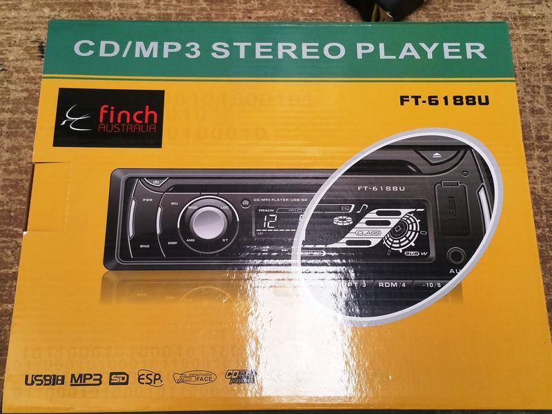 Finch AMFMCD radio