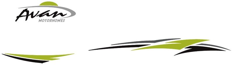 motorhome decals 2015 lime m3 m5 m8 small series