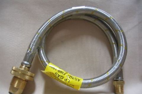 600mm Gas Hose With Pol Hand