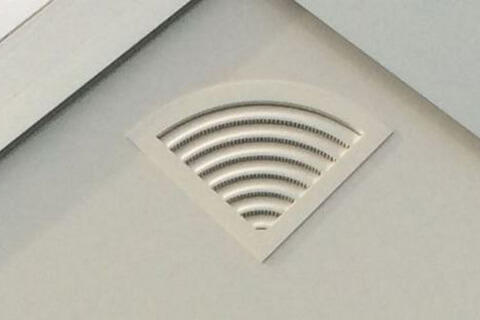A-wall vent