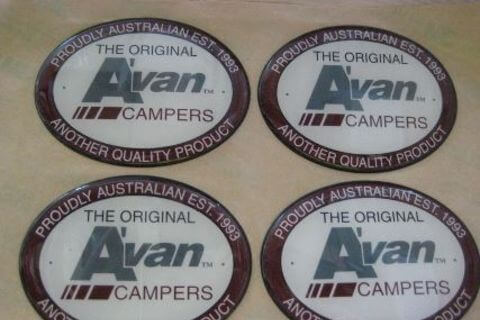 Avan Oval Badge
