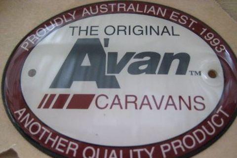 Avan Oval Badge Caravans