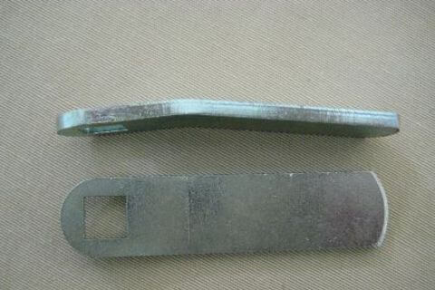 Baggage Door Lock Striker Plate (Long) - 90mm Long