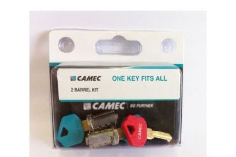 Barrel and Key Set - Camec Door Lock