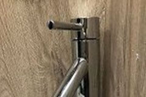 Bathroom Mixer - 240mm Tall - Chrome