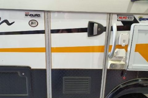 Bottom Door Hinge - Avan Camper