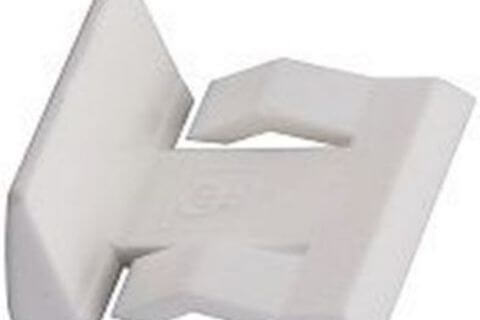 Bracket Support - White - Plastic