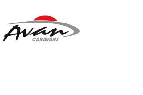 Caravan Decals - 400 Series - Front Flash RED