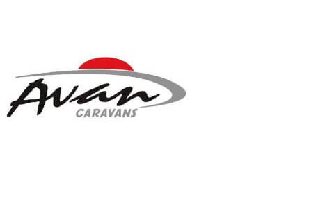 Caravan Decals - 500 Series - Front Flash RED