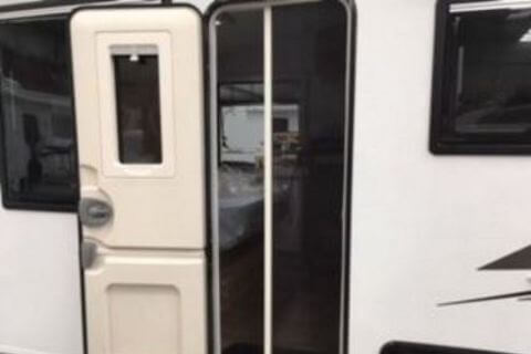 Caravan Door Flyscreen