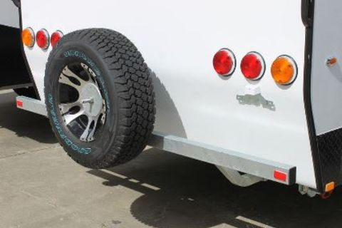 Caravan Rear Bumper Bar ADV
