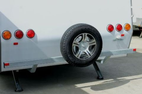 Caravan Rear bumper Bar STD
