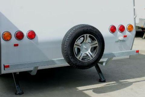Caravan Rear bumper Bar STD