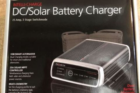 Caravan Solar Charger 25Amp 3Stage