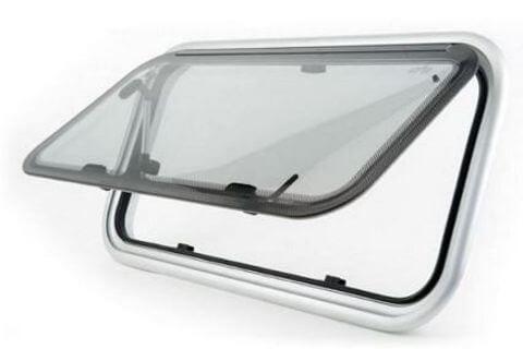 Caravan Window 1040 x 715mm Grey Frame