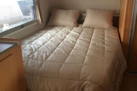 Beige Comforter Bed Spread - Double Bed