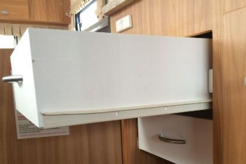 Wire Basket Drawer Runners - Pair