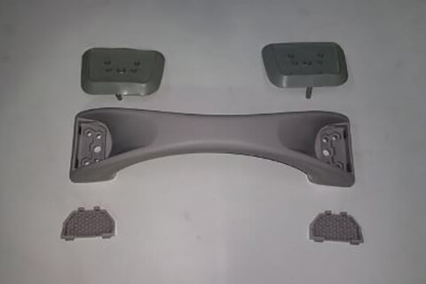 Grey Grab Handles