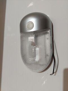 Interior Dome Lamp - Silver