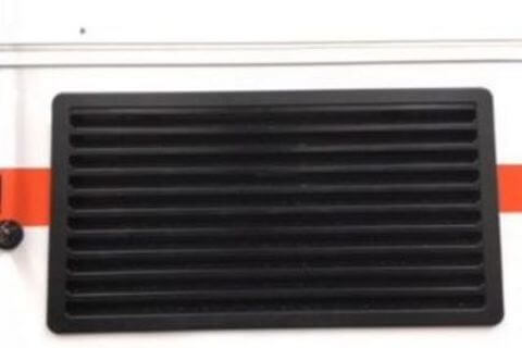Large Fridge Vent Black 520mm x 280mm