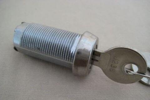 Lock Barrel and Key Set - 38mm Long