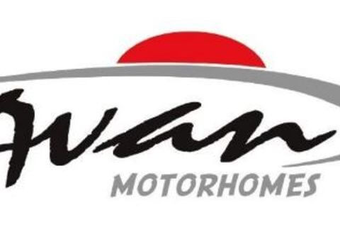 Motorhome Decals - Suit M3 M5 M8 - Small Series - Front Flash RED