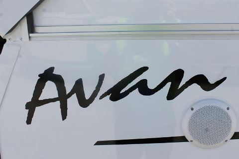 Name decal AVAN LOGO