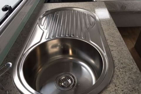 Kitchen Oval Sink Round Bowl