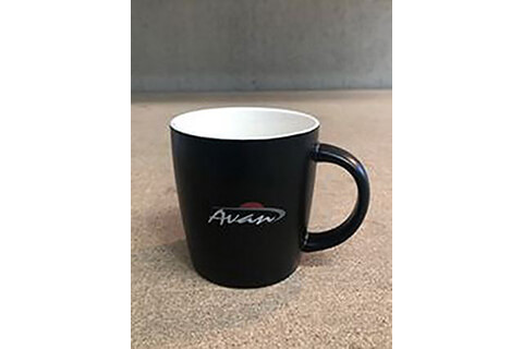 "PROMOTIONAL CERAMIC  CUP   "" AVAN"""