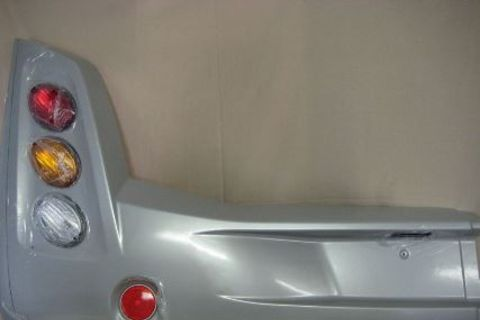 Rear Bumper Left Hand with Lights 2007 - 2013