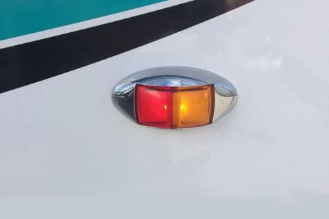 Red / Amber Side Marker Light
