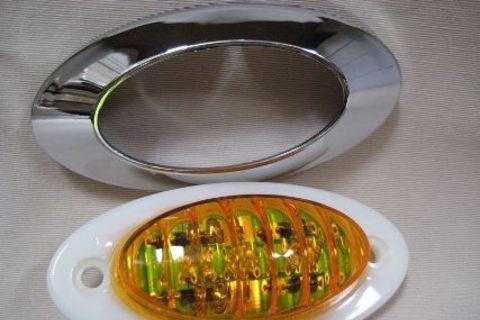 Side Marker Light Amber