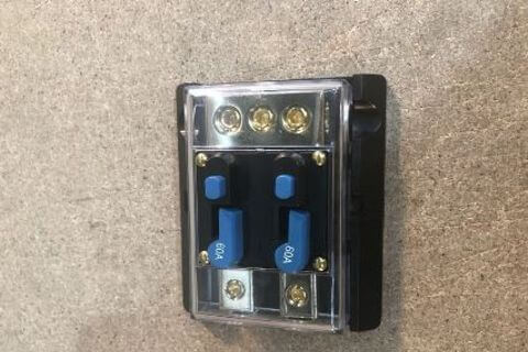 TWIN 60AMP CIRCUIT BREAKER 12V