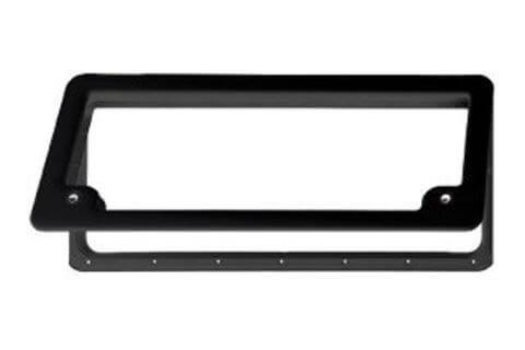 Thetford Baggage Door - 785mm x 340mm - Black Frame Only