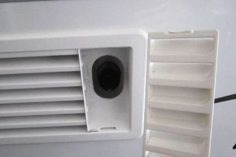 Fridge Vent Top 186 x 483mm White