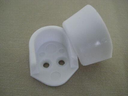 Towel Rail Holder - Plastic - (Pair)