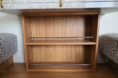 Tri-Fold Bookshelf