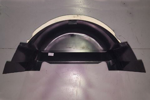 WHEEL TUB BLACK FOR MOTORHOME