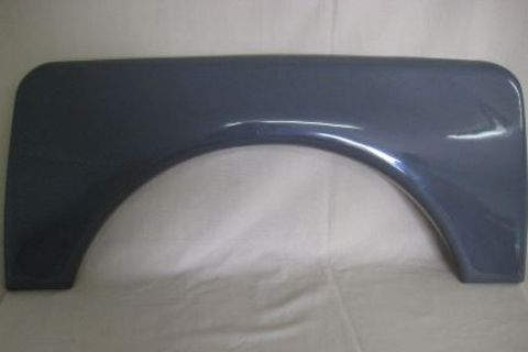 Spat Wheel Arch Grey Plastic