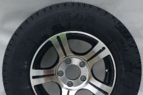 Wheel & Tyre 185R14C